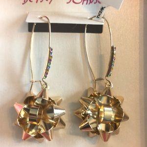 Betsy Johnson Christmas Earrings